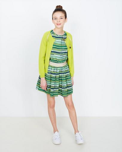 Limonengrüne Jacke
